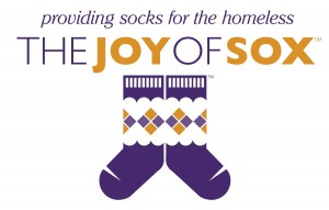 The Joy of Sox providing socks for the homeless