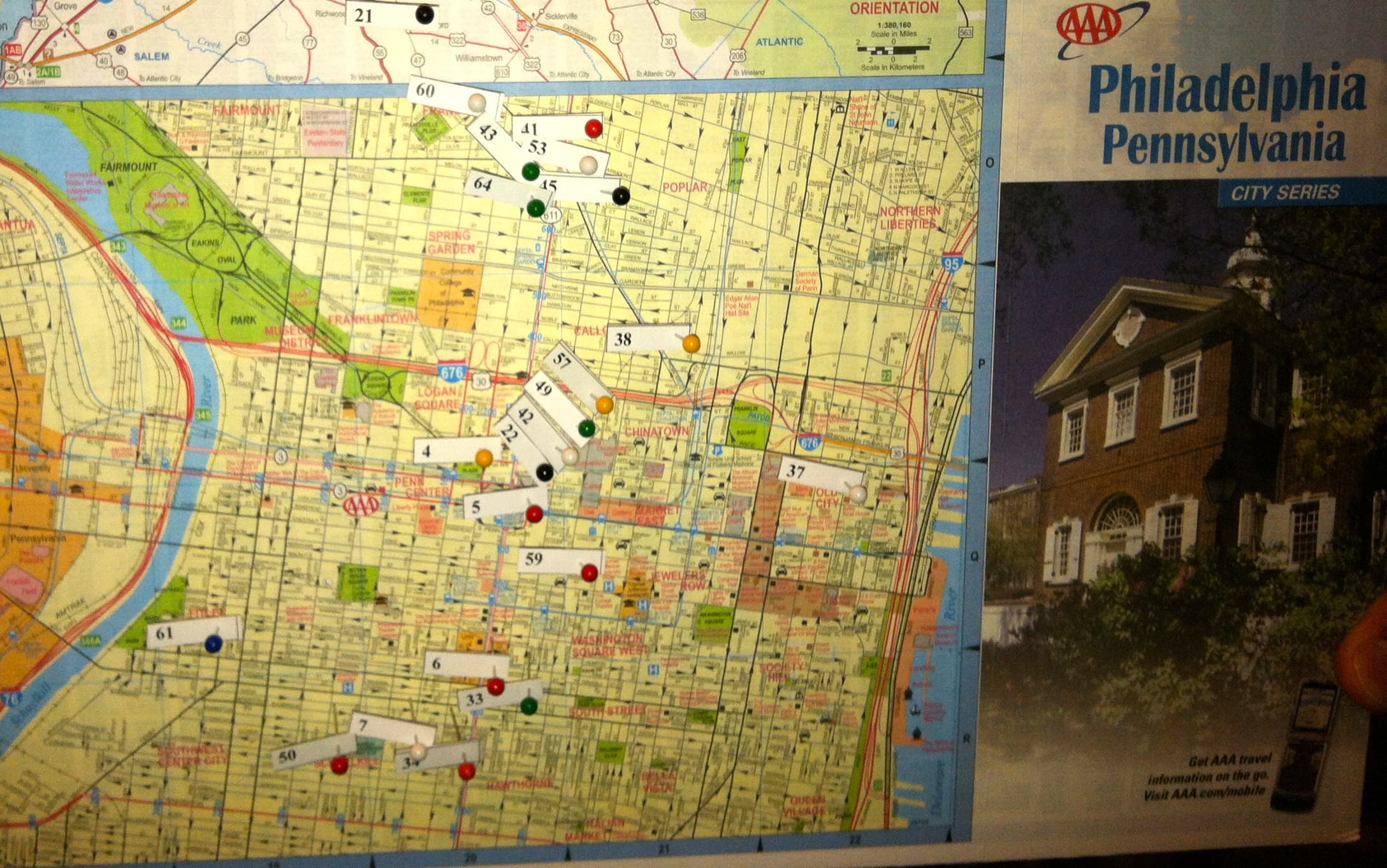Our Map Of The Homeless Shelters Around Philadelphia The Flags Represent Facilities In Philly Where