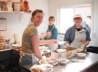 Volunteers at Downtown Soup Kitchen, Anchorage Alaska